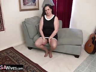 USAWiveS BBW Charlie Fox Solo