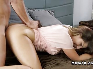 Brunette Milf with stunning body banging