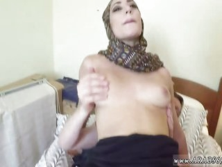 Mature arab mom and friend's comrade No Money, No Problem
