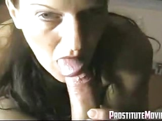 POV Mature wife gives head and tastes cum
