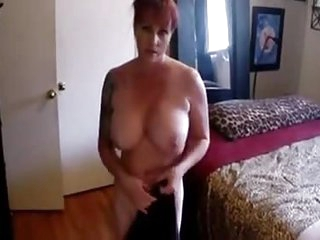 My Nasty Busty Big Boobs Stepmom - More On HDMilfCam.com