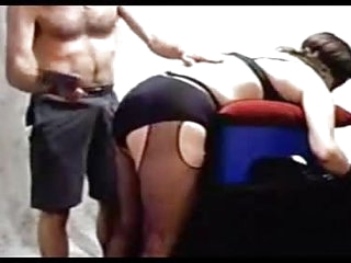 See me spanking a mature fat ass