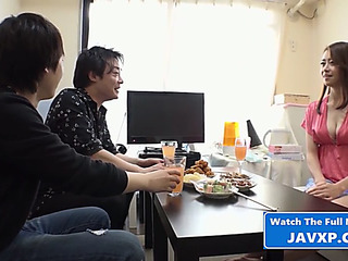 Sexy oriental mother i'd like to fuck group sex.threatening japanese jav