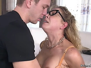 Mother I'd Like To Fuck in slavery anal drilled and cummed