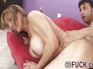Amazing mature bitch enjoys a fat cock sliding in make her feel like 18 and not 60 again!