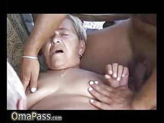 OmaPasS Amateur Mature Homemade Threesome Video