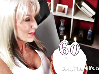 Busty Mature Wanted Some Cock Up Her Ass And Gets A Young Male To Fuck Her Milf Ass