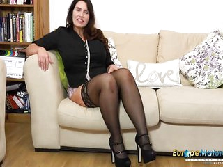 EuropeMaturE Solo Mature Lady and Her Fantasies