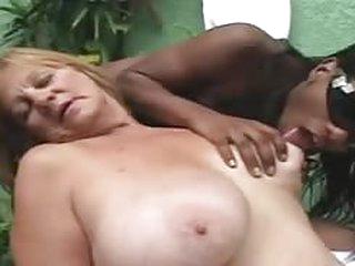 porno movies Ebony Tranny anb Blonde Granny - Part 1