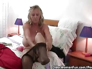 British housewives masturbating in pantyhose