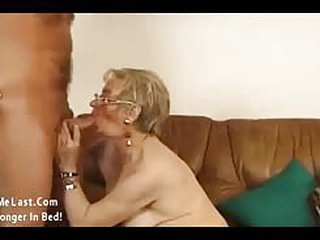 Horny grandma getting her very first fuck after long 50 years