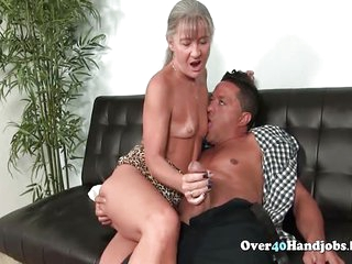 Nasty Mature Jerks Dick Till Cumshot