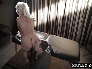Busty MILF hooker anal fucked by a well paying client
